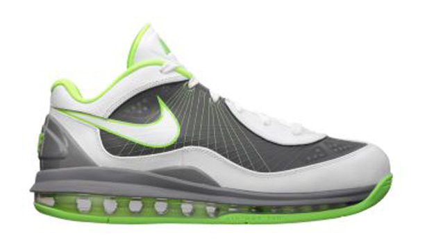 8b5006268c Colorway: White/White-Cool Grey-Electric Green. nike-air-max-360-bb-low -white-white-