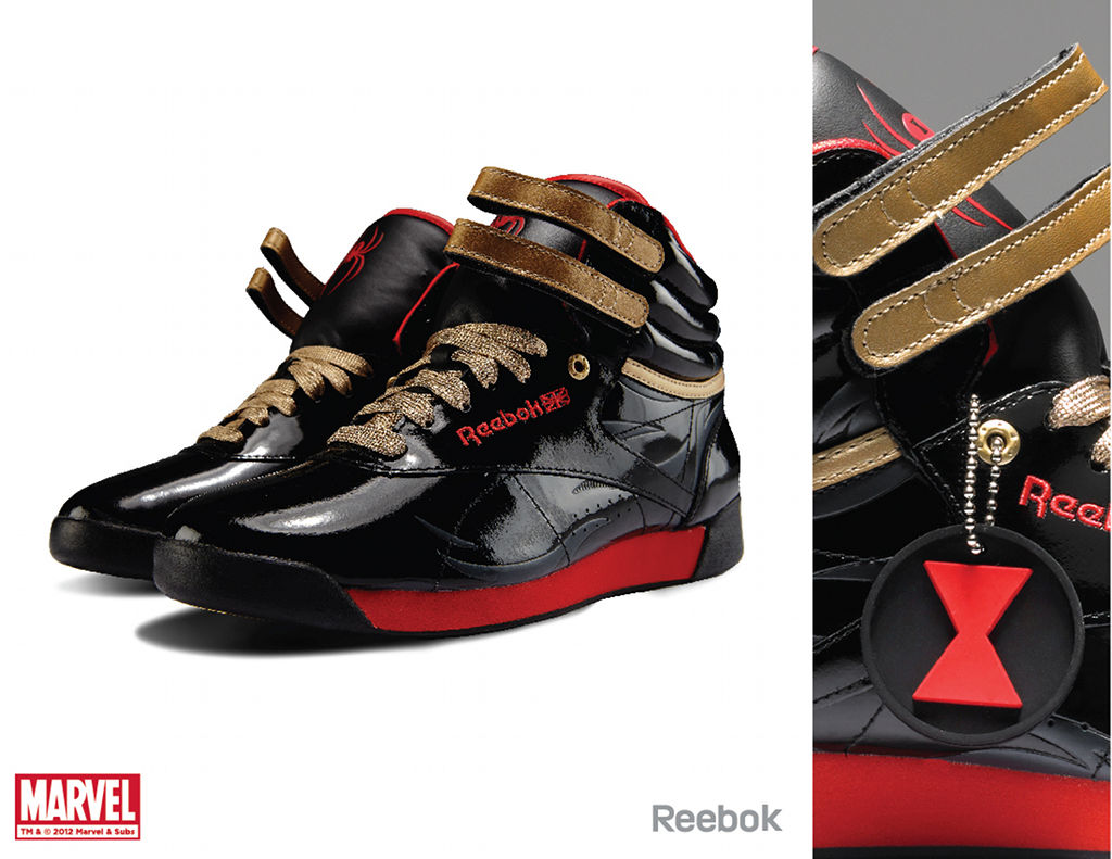 Marvel x Reebok Collection - Black Widow Freestyle Hi