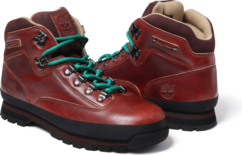 Supreme x Timberland Euro Hiker   Sole Collector