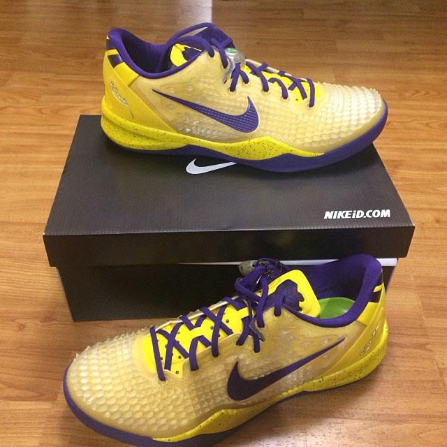 54067e528393 Swaggy P s NIKEiD Nike Kobe 8 SS PE (1)