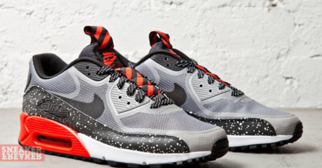Nike Air Max 90 CMFT Tape - Challenge Red