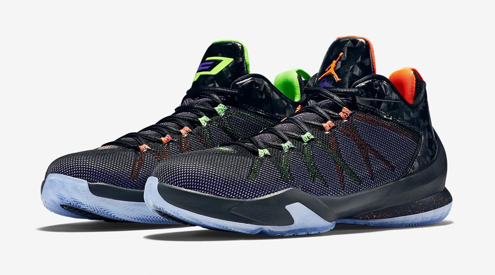 a35b22c54ba Jordan Brand Mismatches Chris Paul s Playoff Sneakers