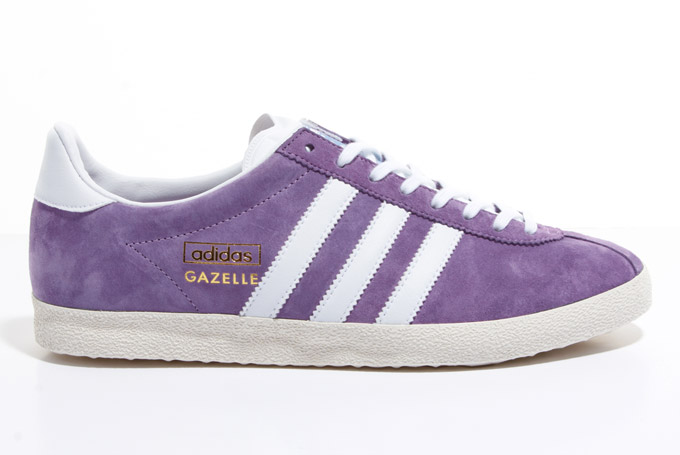 adidas purple gazelle