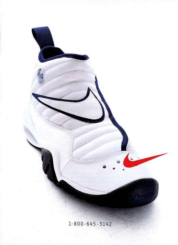 Dennis Rodman wearing the Nike Air Shake Ndestrukt