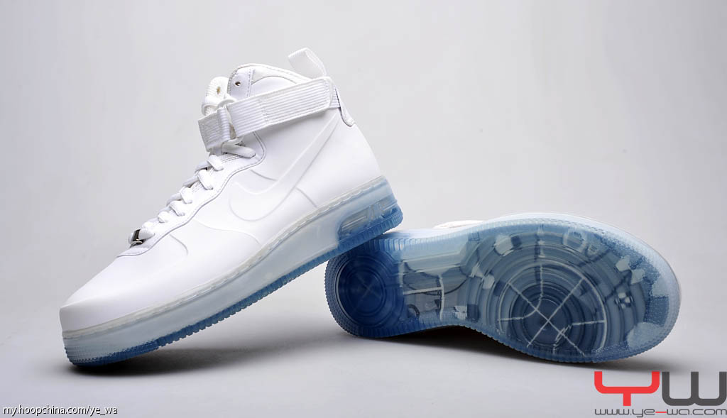 7556575a16f Nike Air Force 1 Foamposite White Pack White White Ice Blue 415419-100