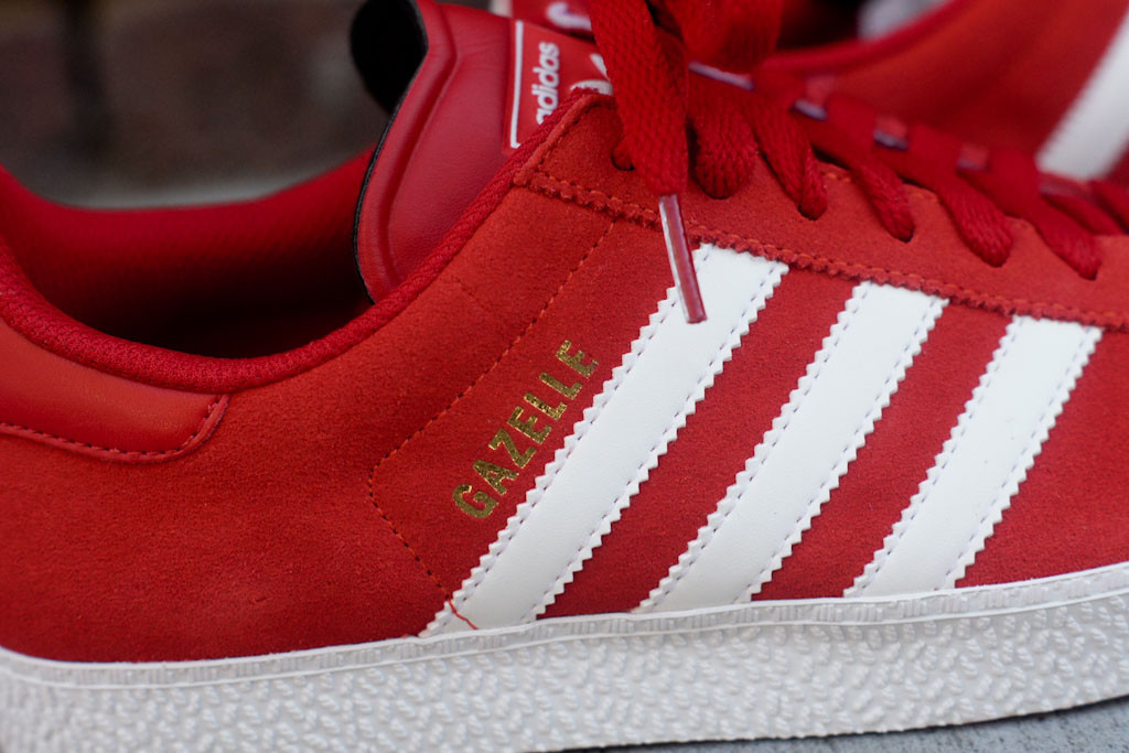 adidas Gazelle II - Red White  363a1cbb1812