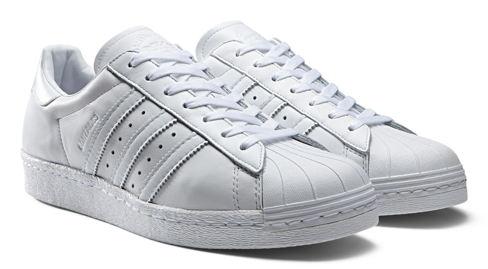 Adidas Superstar 80s White Black On feet Video at Exclucity