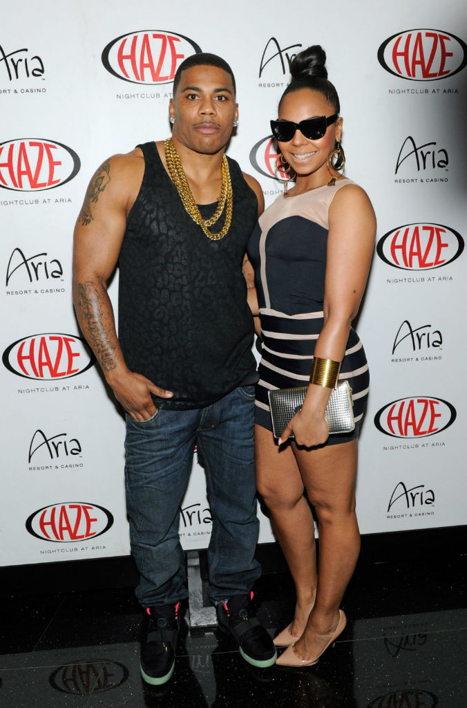Nelly wearing Nike Air Yeezy 2 II Black Solar Red (2)