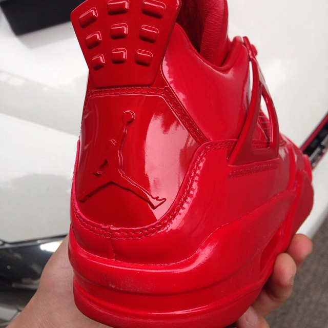 Air Jordan 11Lab4 Red 719864-600 (2)