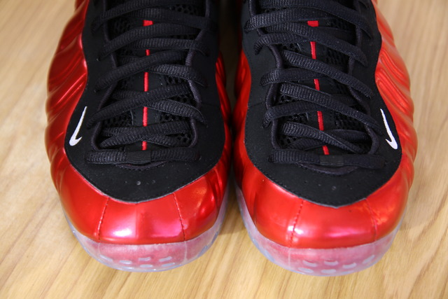 Nike Air Foamposite One Metallic Red Black 314996-610 5