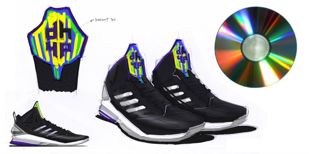 Sketch Work // adidas D Howard Light (8)
