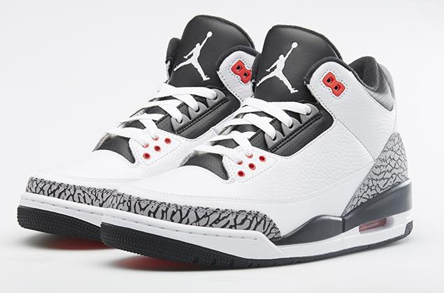 Nike Air Jordan III 'Infrared 23' (by Man Ho Kum