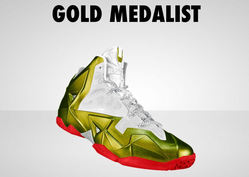 28520d1d2 NIKEiD Concept    LeBron 11  Gold Medalist  2008 (2)