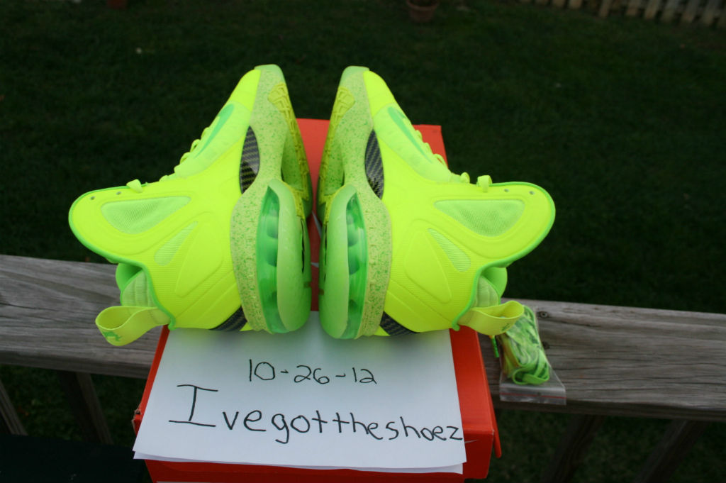 watch 52f0c 999d8 Nike LeBron 9 PS Elite Dunkman Volt Tennis Ball (6)