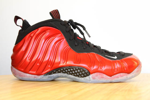 Nike Air Foamposite One Metallic Red Black 314996-610