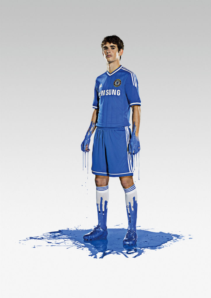 Chelsea FC & adidas Unveil 2013-14 Kit - Oscar