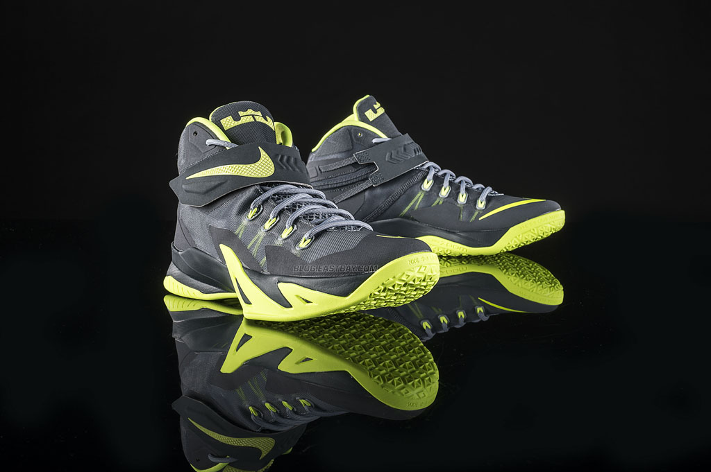 new concept a04dd d4c60 Nike Zoom Soldier 8 'Magnet Grey' Releasing at Eastbay ...