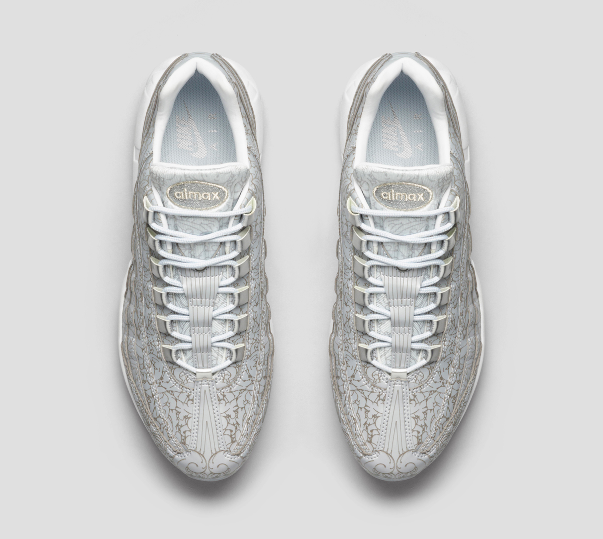 66c059fb06 The Details on the 'Platinum' Nike Air Max 95 Are Insane | Sole Collector