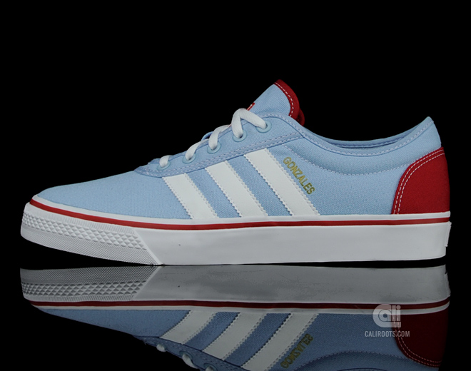 cheap for discount ef575 3f750 adidas Skateboarding adiEase Gonz - Altitude BlueWhiteUniversity Red