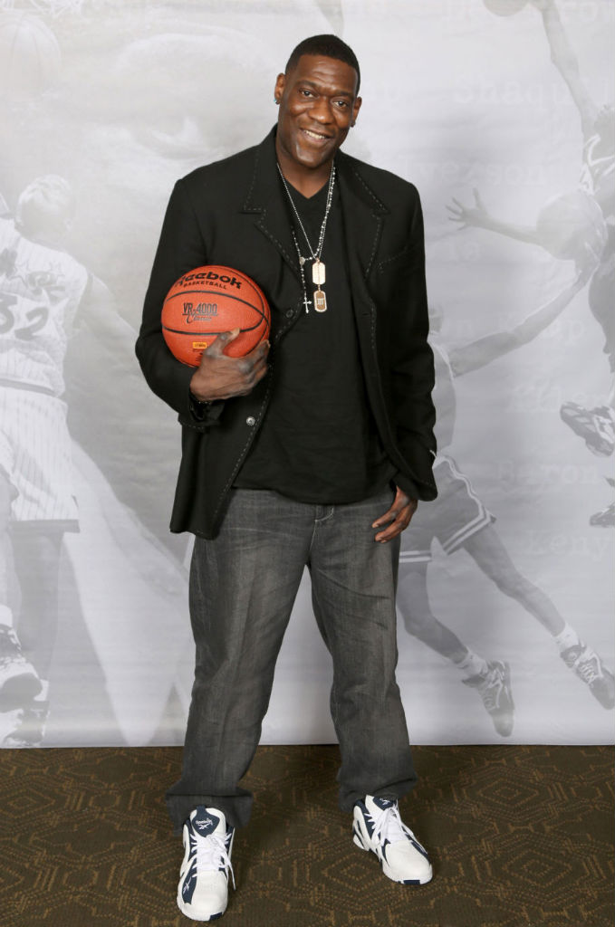 Shawn Kemp Attends Reebok Kamikaze II Re-Launch In Houston (2)