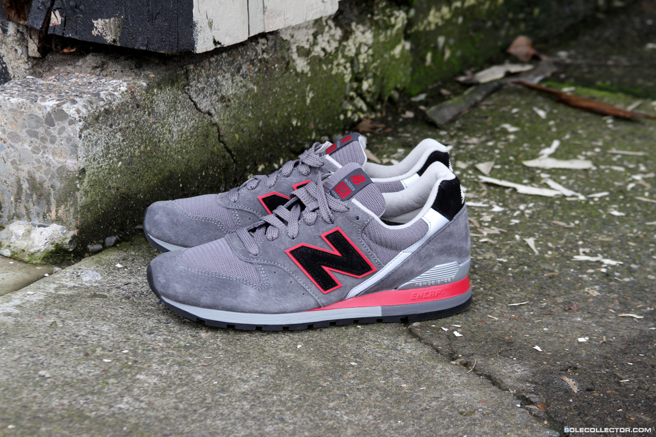 new york 09b0e 8d02c New Balance 996 'Dark Grey/Red' - American Renegade Pack ...