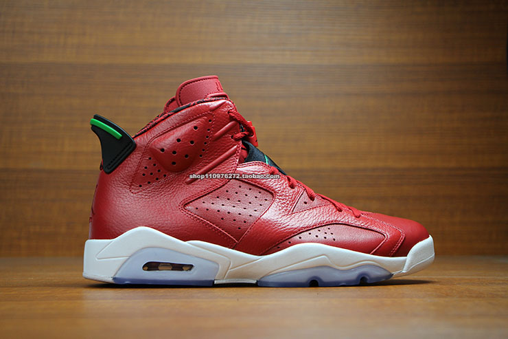 Air Jordan VI 6 Red History of Air Jordan 694091-625 (1)
