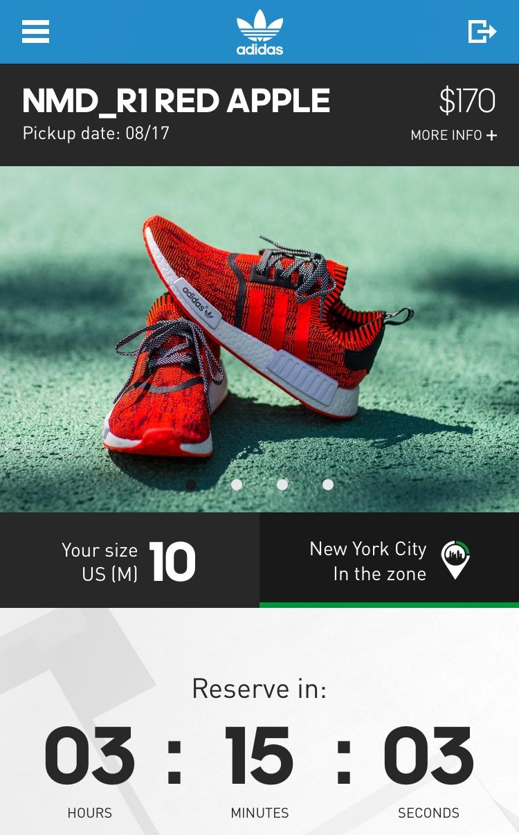 Adidas Red Apple NMD Confirmed 7fad78769