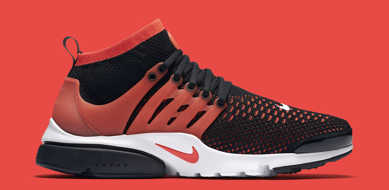 Atajos Pescador He reconocido  Nike Air Presto Ultra Flyknit Red Black | Sole Collector