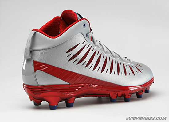 Jordan Super.Fly PE Cleats Hakeem Nicks New York Giants (2)