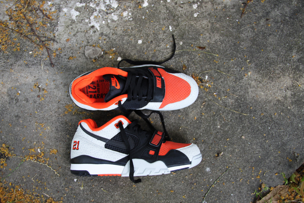55549ed133041 Nike Air Trainer 2 Premium QS  Barry Sanders
