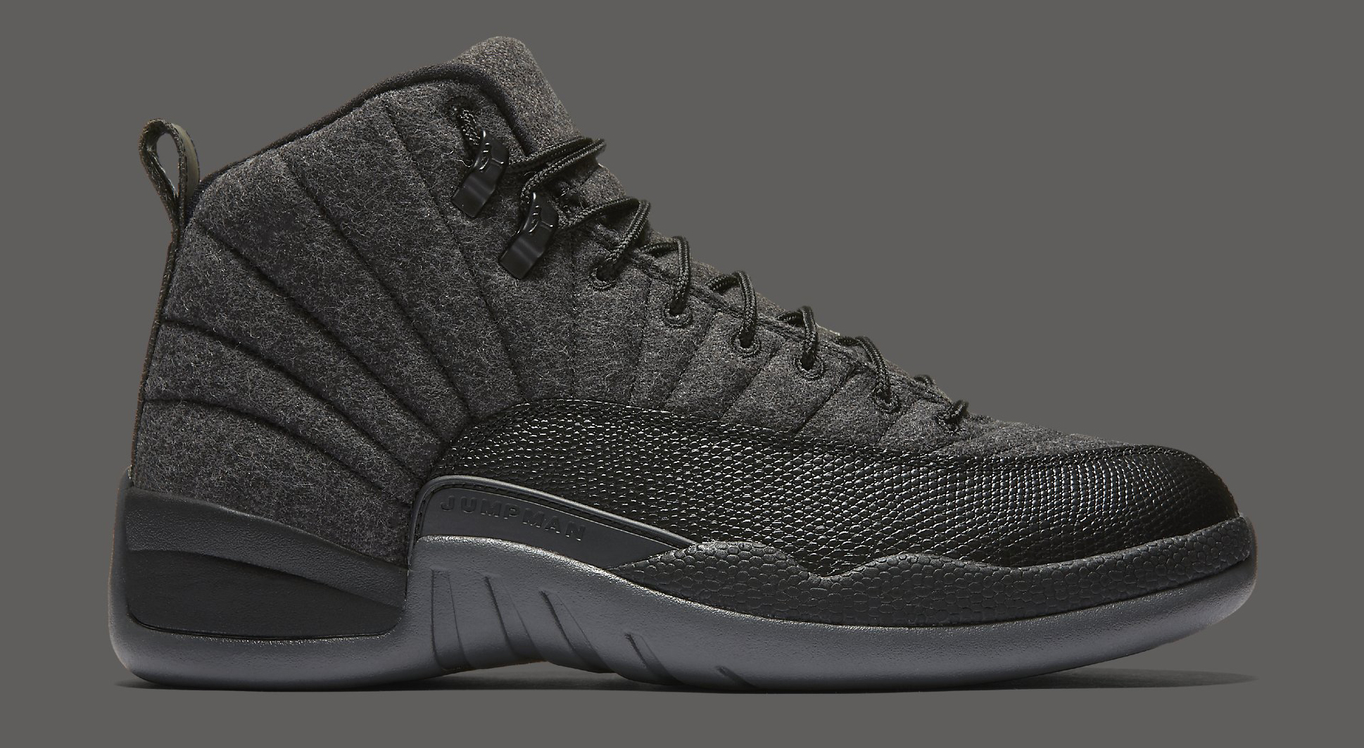 Wool Jordan 12 852627-003 Profile