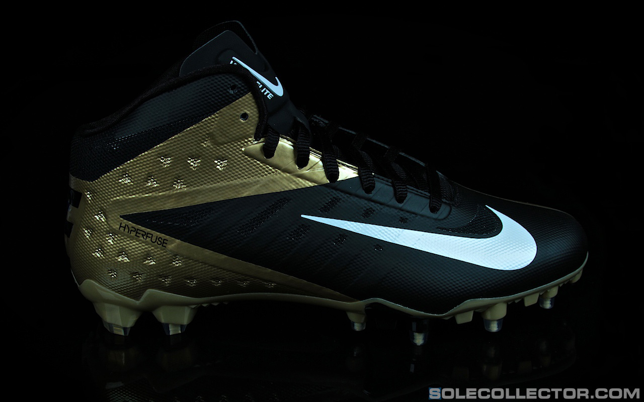 black and white nike football boots nfl