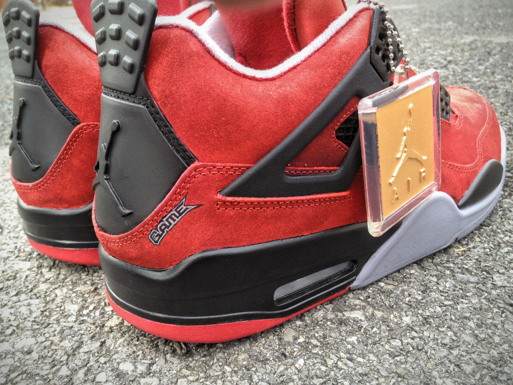 Air Jordan IV 4 Jesus Piece for The Game by Mache Custom Kicks (5)