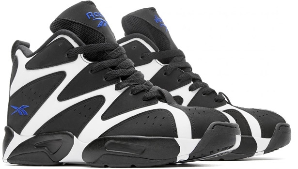 Reebok Kamikaze I Mid White/Black-Truth Blue