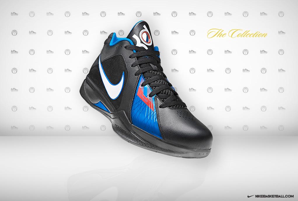 Nike Zoom KD III - Black White-Photo Blue-Team Orange - New Images ... 4231107132b4