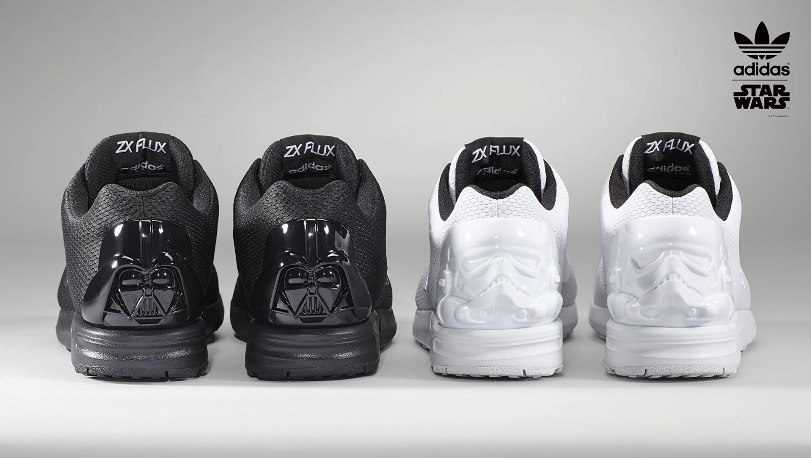 2a9e6f227f24 adidas Is Keeping Star Wars Fans Happy With These Sneakers. May the force  be with you.