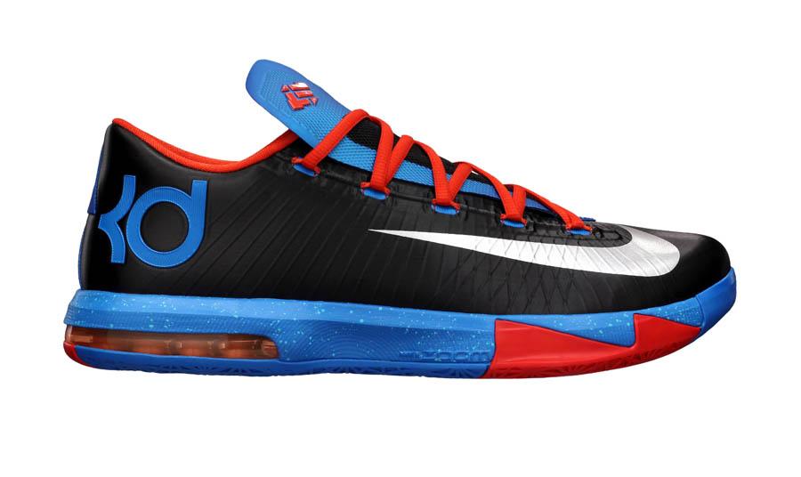 Nike Kevin Durant KD 6 OKC Away