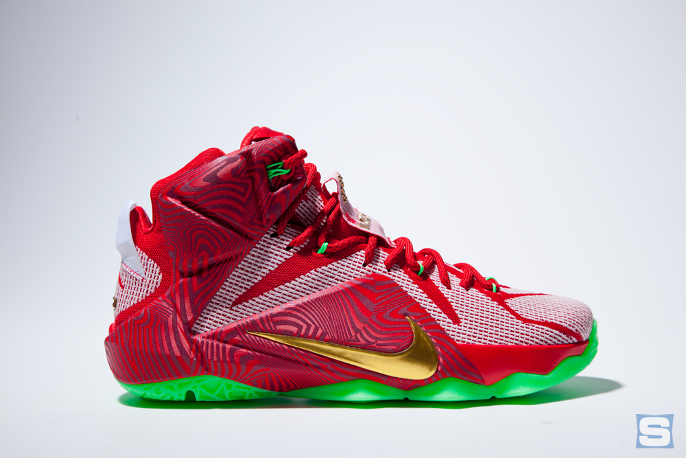an indepth look at the nike lebron 12 sprite mix pack