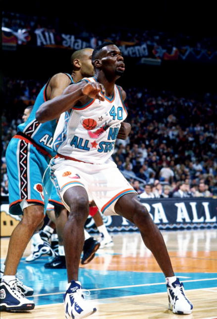 0b18d749d94f Flashback    Shawn Kemp in the 1996 All Star Game Wearing the Kamikaze II