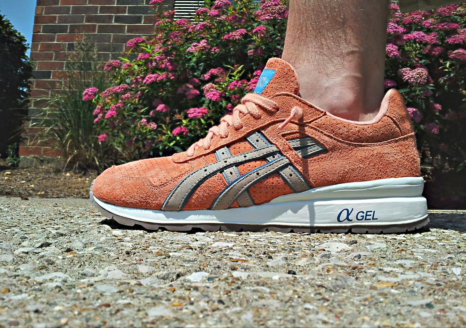 asics rose gold gt