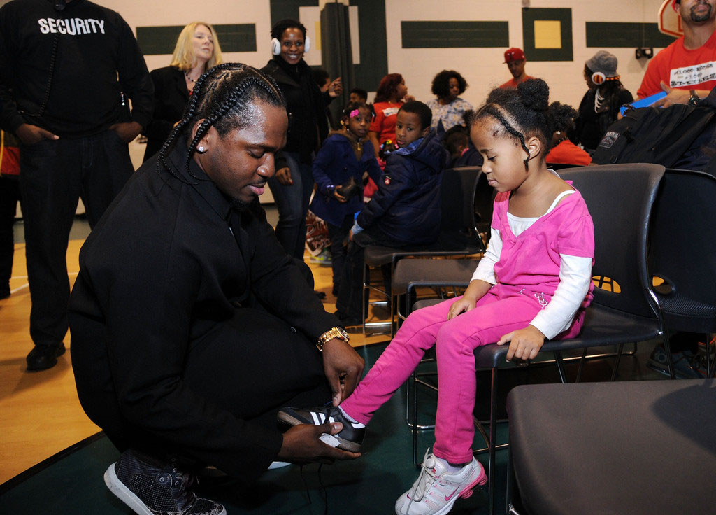 adidas Sponsors Pusha T 1000 Shoes for a 1000 Smiles Event (8)