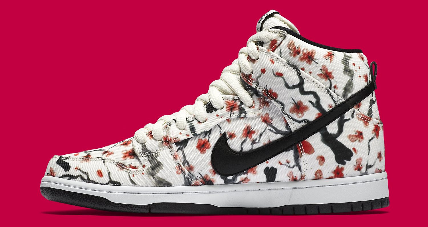 1e618d0f77af Cherry Blossoms Bloom on Nike SB Dunks
