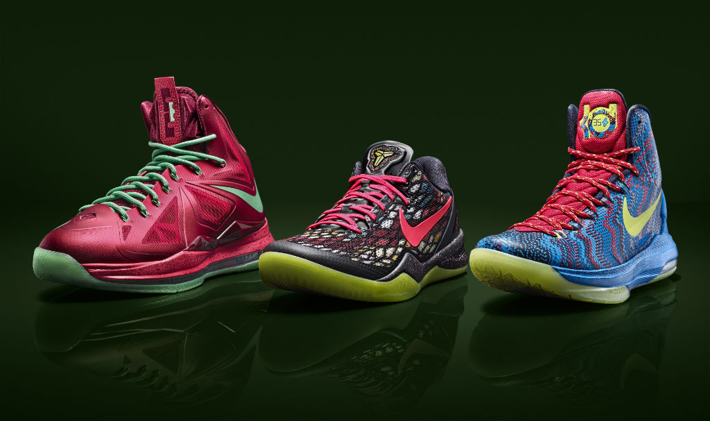 Poll // Best Nike Basketball Signature Christmas Pack - 2012