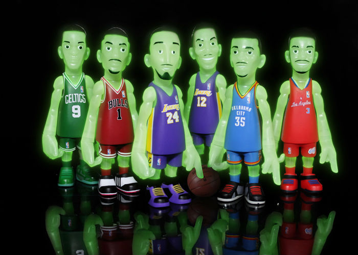 MINDstyle x CoolRain NBA Glow in the Dark Figurines - BAIT Exclusive (2)