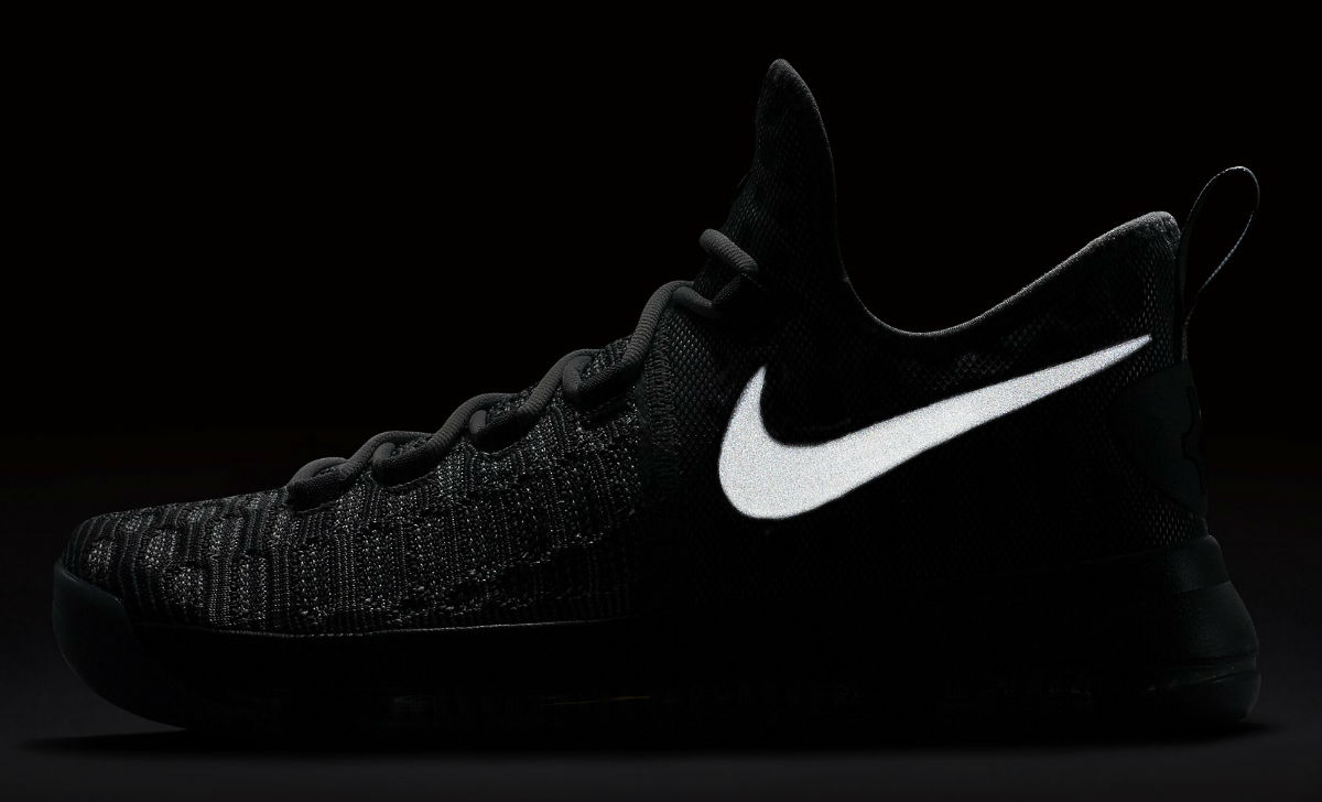 sports shoes e1135 fc5d4 Nike KD 9 Battle Grey Reflect 843392-002