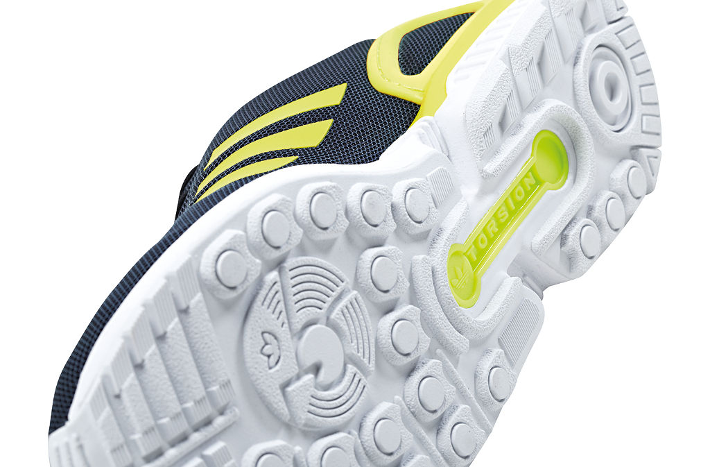 adidas ZX Flux Base Pack Grey/Yellow (5)