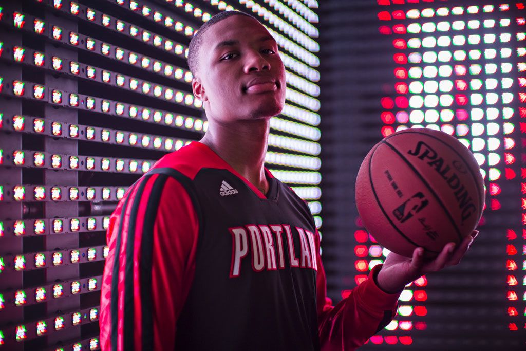 adidas 2013-2014 NBA On-Court Collection // Damian Lillard (2)