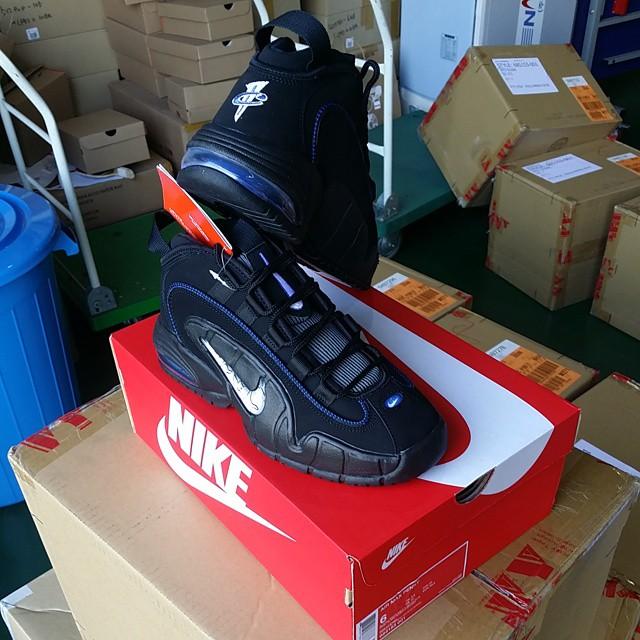 Nike Air Max Penny 1 Black/Royal-Silver-White 685153-001 (