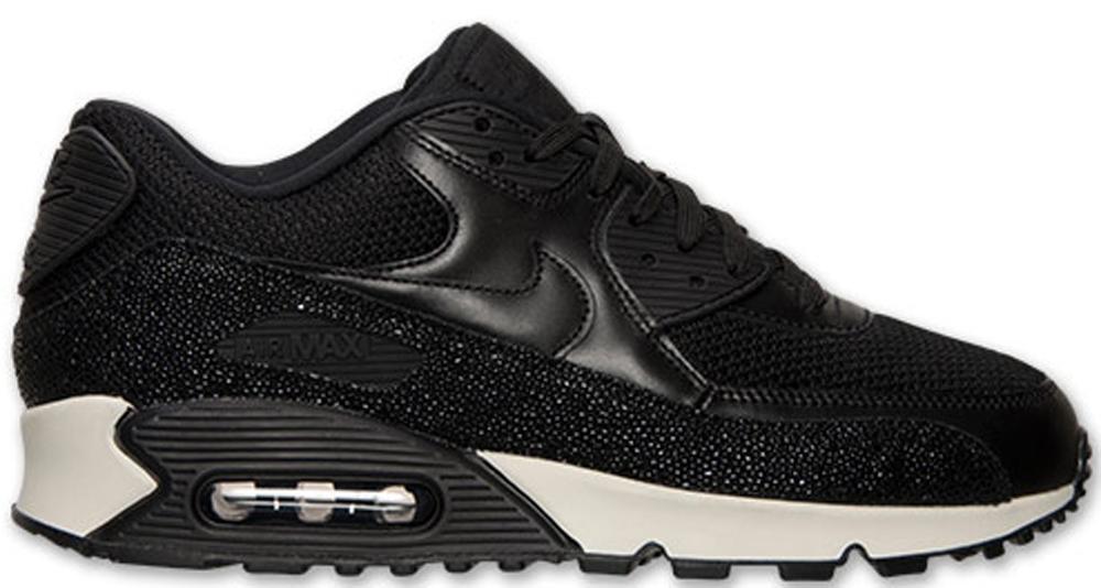 Nike Air Max '90 Leather PA Black/Black-Sea Glass