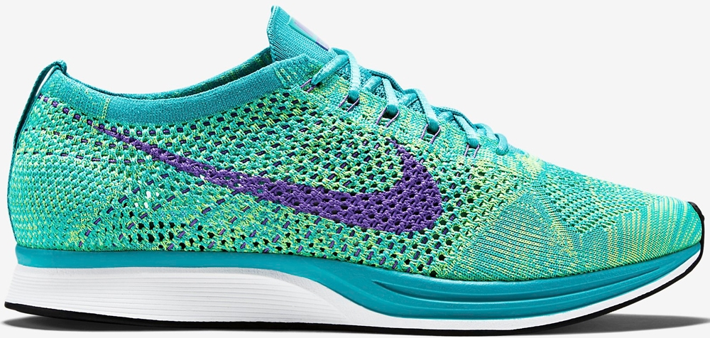 Nike Flyknit Racer Sport Turquoise/Hyper Grape-Volt